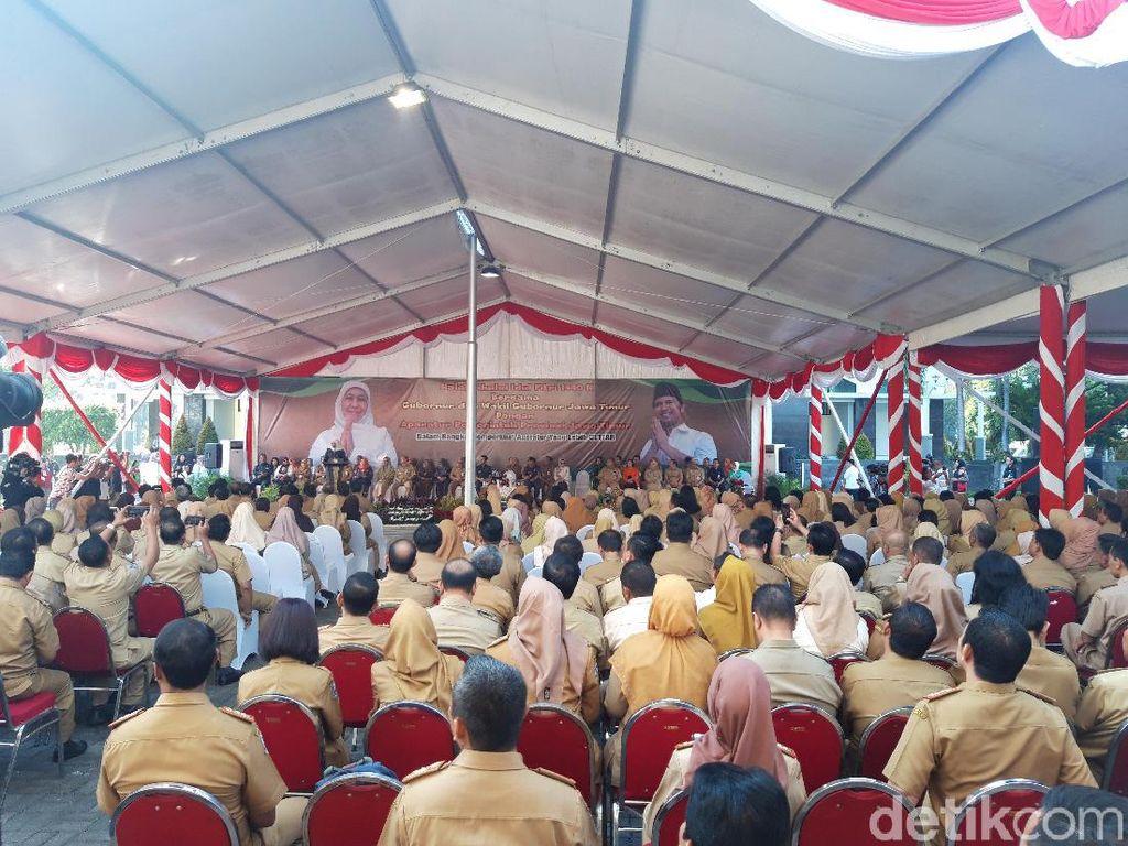 718 ASN Pemprov Jatim Tidak Masuk Hari Pertama Usai Libur Lebaran