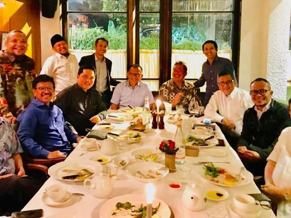 Sekjen Koalisi Jokowi Kumpul Jelang Sidang Gugatan Prabowo di MK