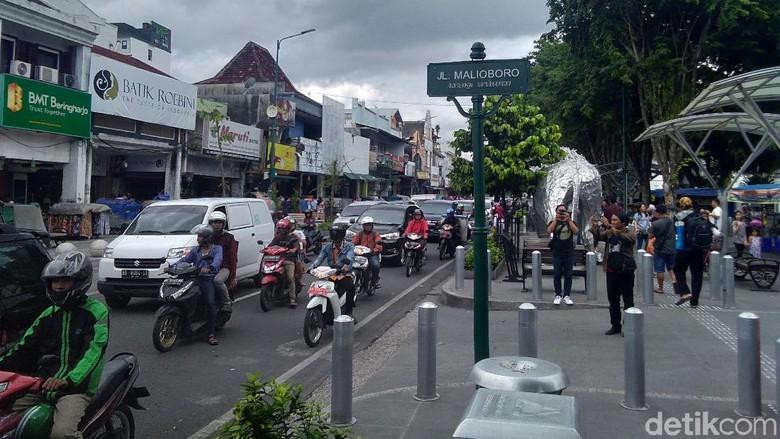 6 Objek Wisata Malioboro untuk Liburan Weekend/Foto: Usman Hadi/detikcom