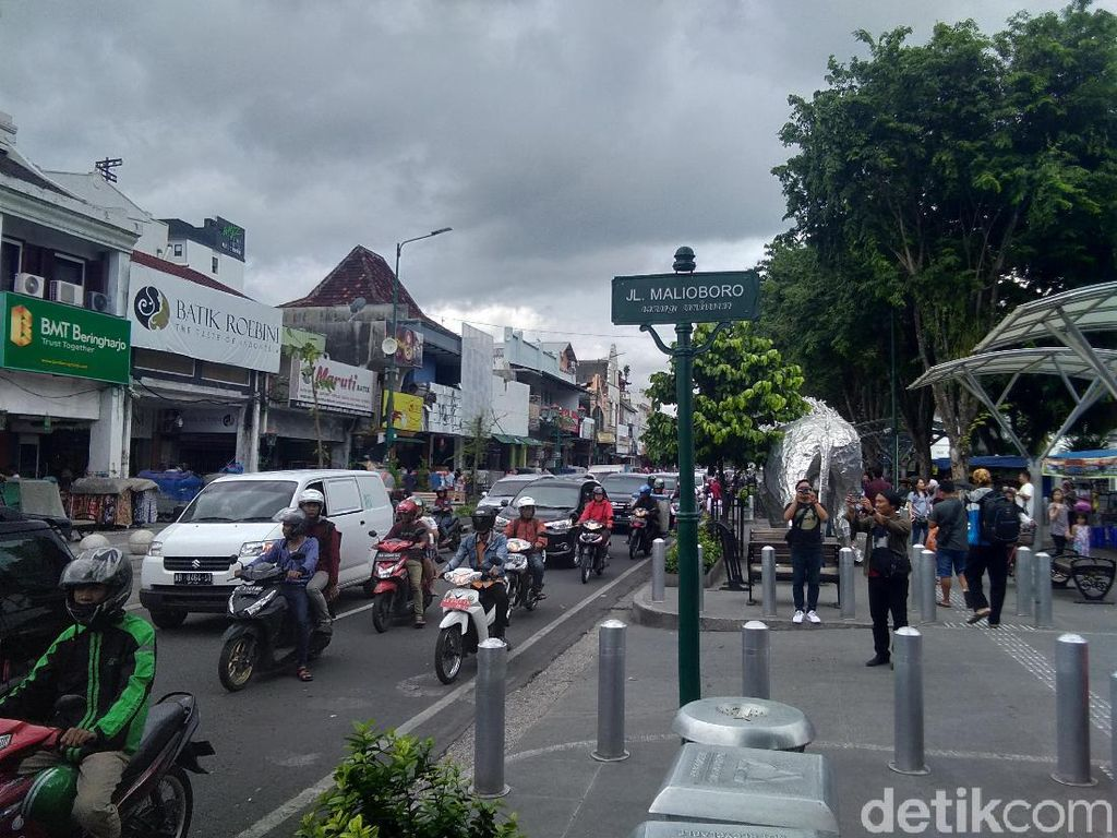 Pengusaha Keberatan Jalan Malioboro Bebas Kendaraan Bermotor