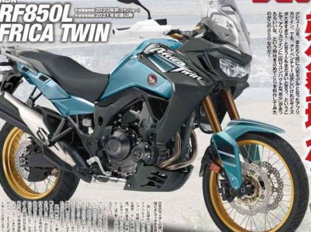 Honda Siapkan Africa Twin 850 cc