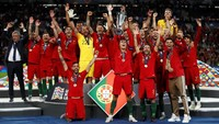 Portugal menjadi juara di edisi pertama UEFA Nations League.  (Carl Recine/Action Images via Reuters)