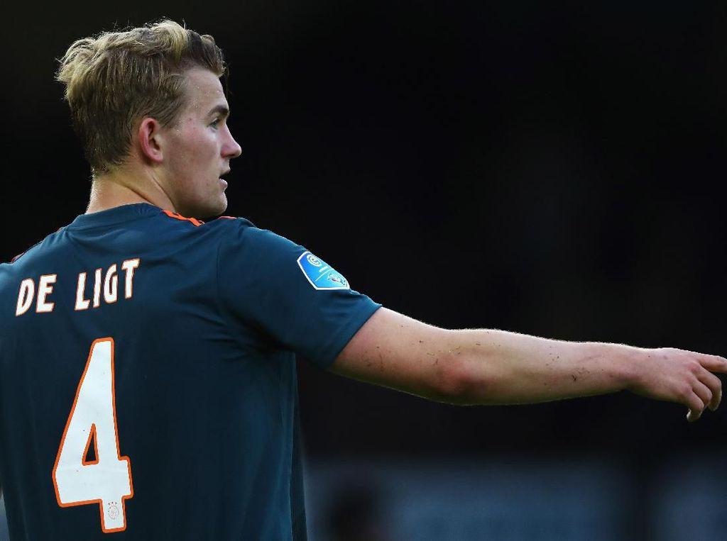 Uang Bukan Pertimbangan Utama De Ligt dalam Memilih Klub Baru