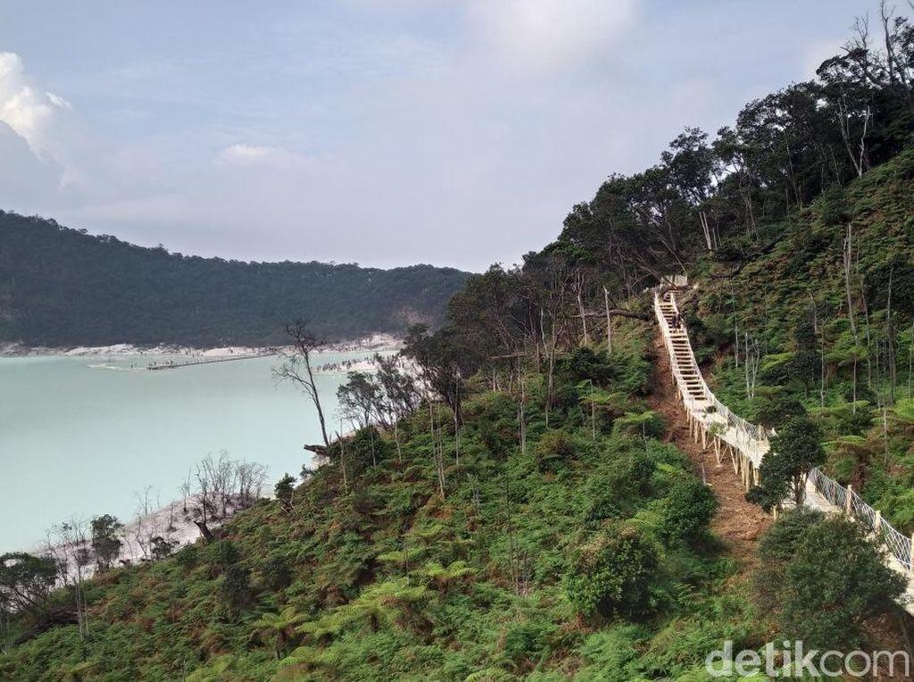 Libur Lebaran, 35 Ribu Wisatawan Kunjungi Kawah Putih Bandung