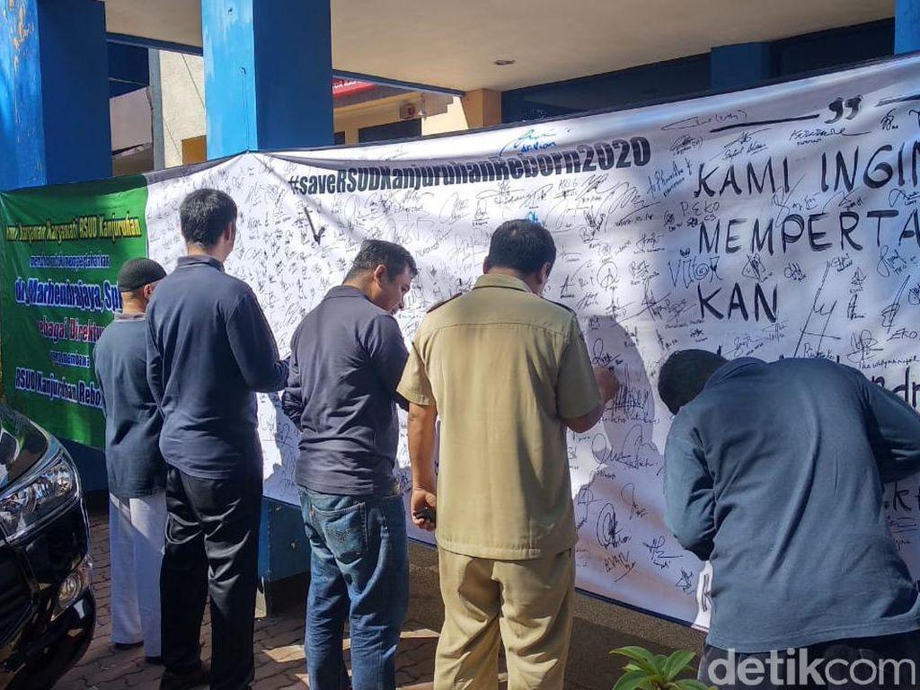 Tolak Direktur Baru, Karyawan RSUD Kanjuruhan Malang Terancam Sanksi