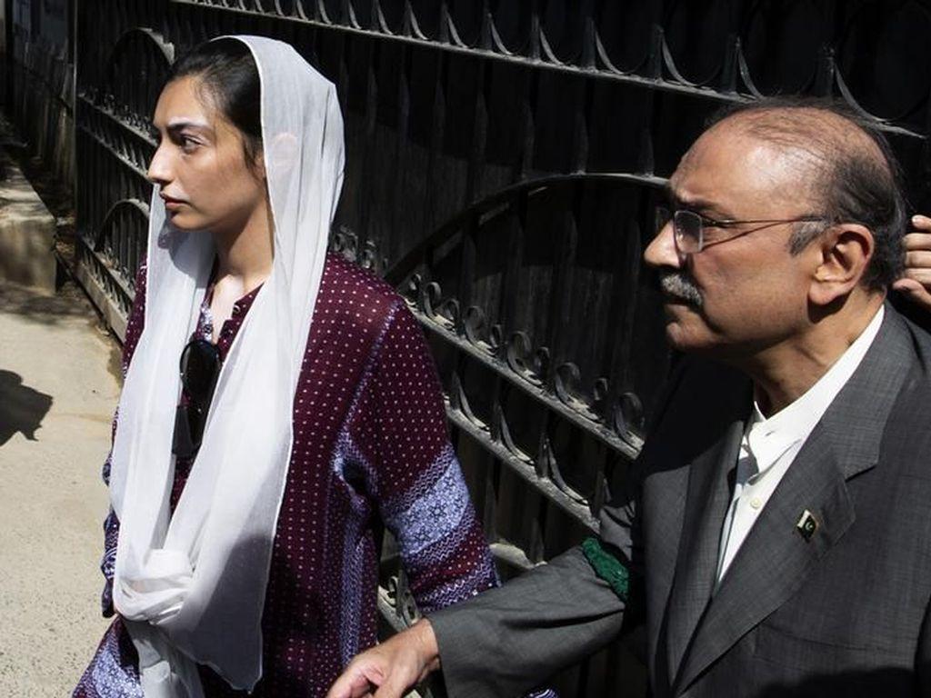 Mantan Presiden Pakistan Asif Ali Zardari Ditahan Badan Antikorupsi