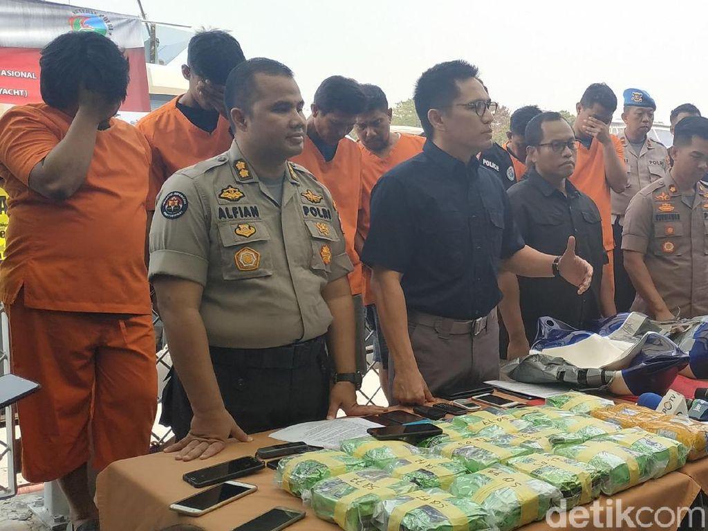 Polisi Gagalkan Penyelundupan Sabu dengan Yacht dari Malaysia