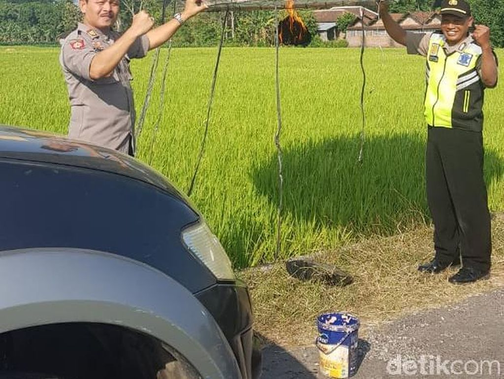 59 Balon Udara di Ponorogo Disita Polisi Selama Lebaran