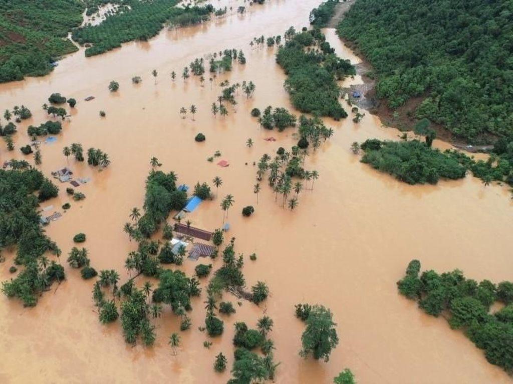 8.489 Warga Masih Mengungsi akibat Banjir di Konawe Utara