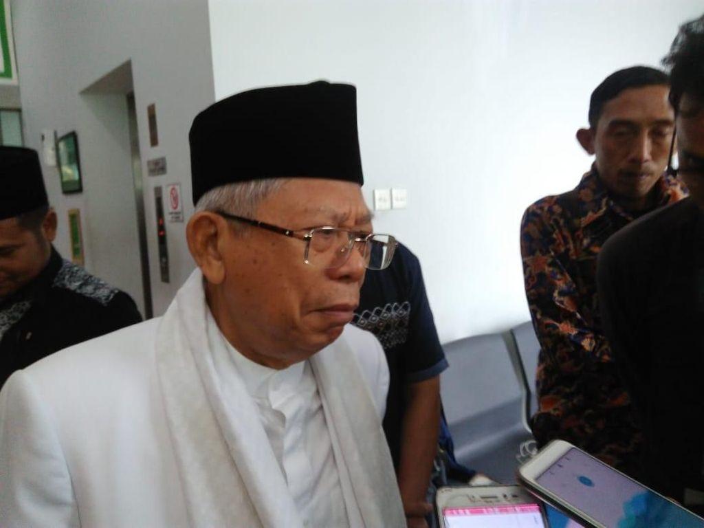 Posisi Maruf di Bank Dipersoalkan, Kursi BW di DKI Jadi Sorotan