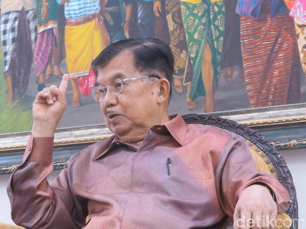 JK: Partai Pendukung Jokowi Berhak Dapat Jatah Menteri