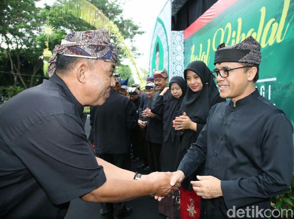Halal Bihalal, Bupati Anas Ajak Doakan Soekarno dan KH Wahab Chasbullah