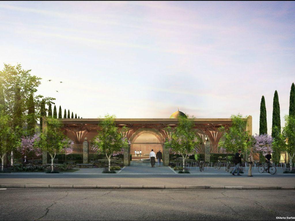Ini Masjid Ramah Lingkungan Pertama di Eropa