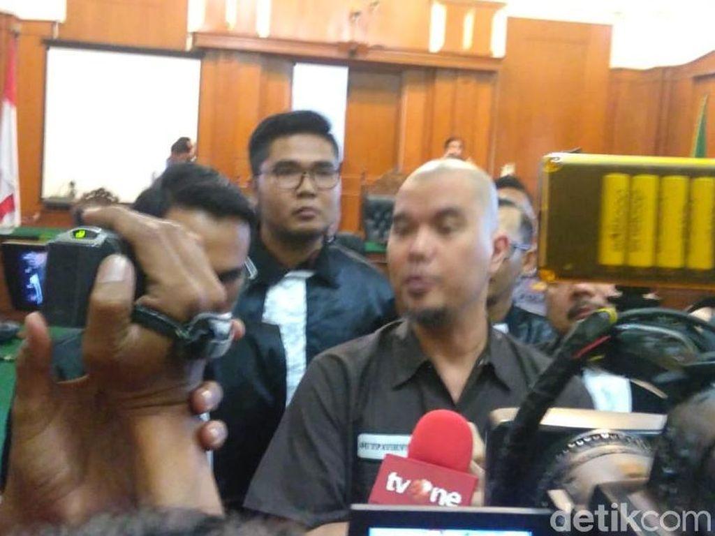 Divonis 1 Tahun Penjara, Pengacara Yakin Ahmad Dhani Tidak Ditahan