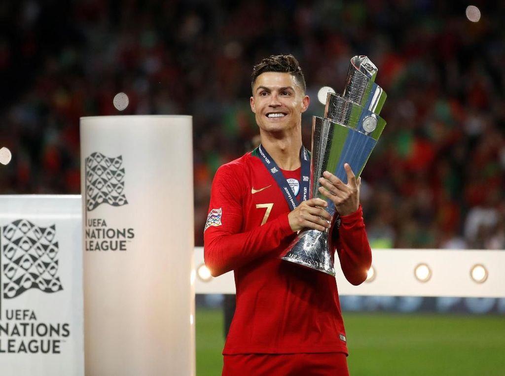 Ronaldo Masih Haus Trofi Bersama Timnas Portugal