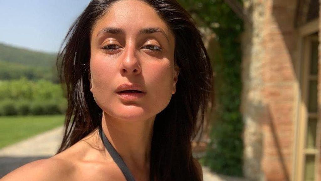 Foto: Wajah Tanpa Makeup Kareena Kapoor yang Bikin Netizen Pangling