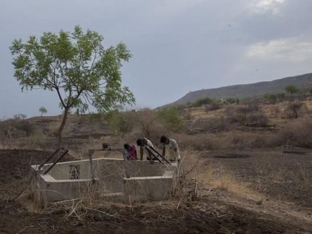 Kisah Warga India Bertahan di Desa yang 3 Tahun Tak Diguyur Hujan