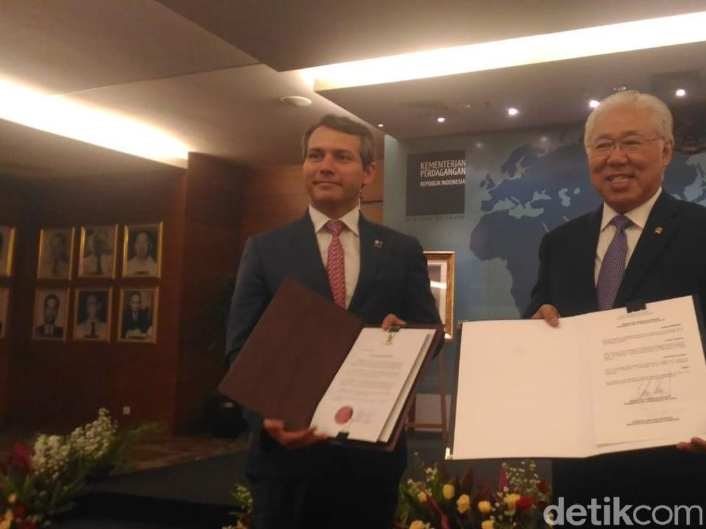 Perdagangan RI-Chili Bebas Tarif Mulai 10 Agustus