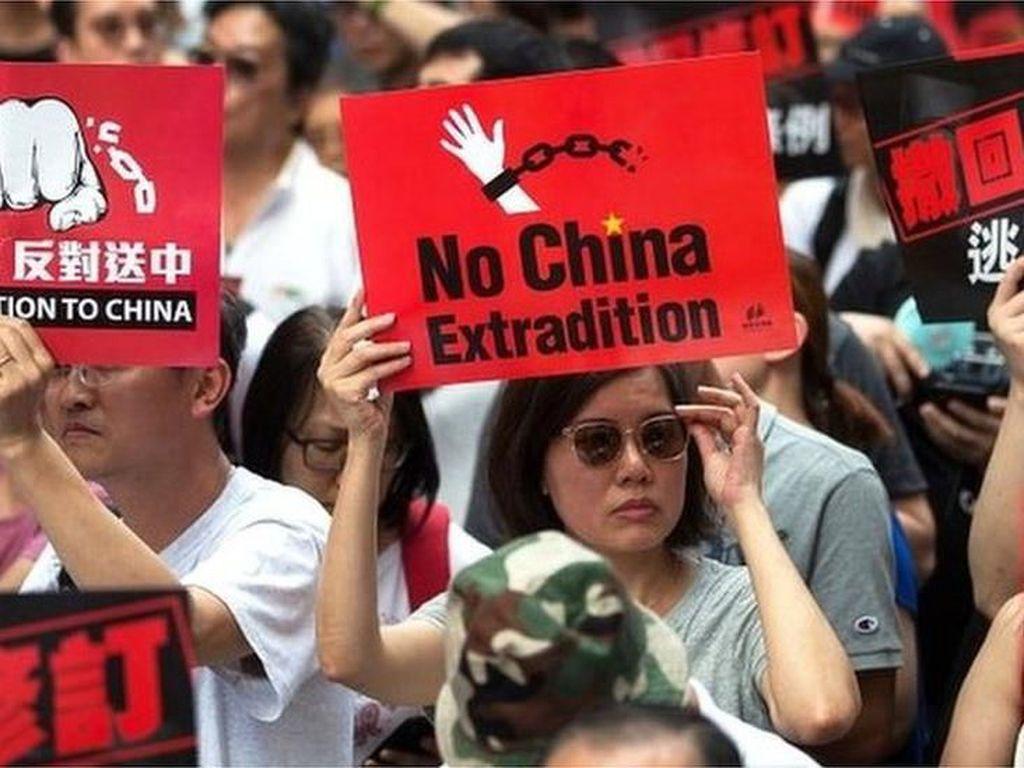AS Komentari RUU Ekstradisi Hong Kong, China Geram
