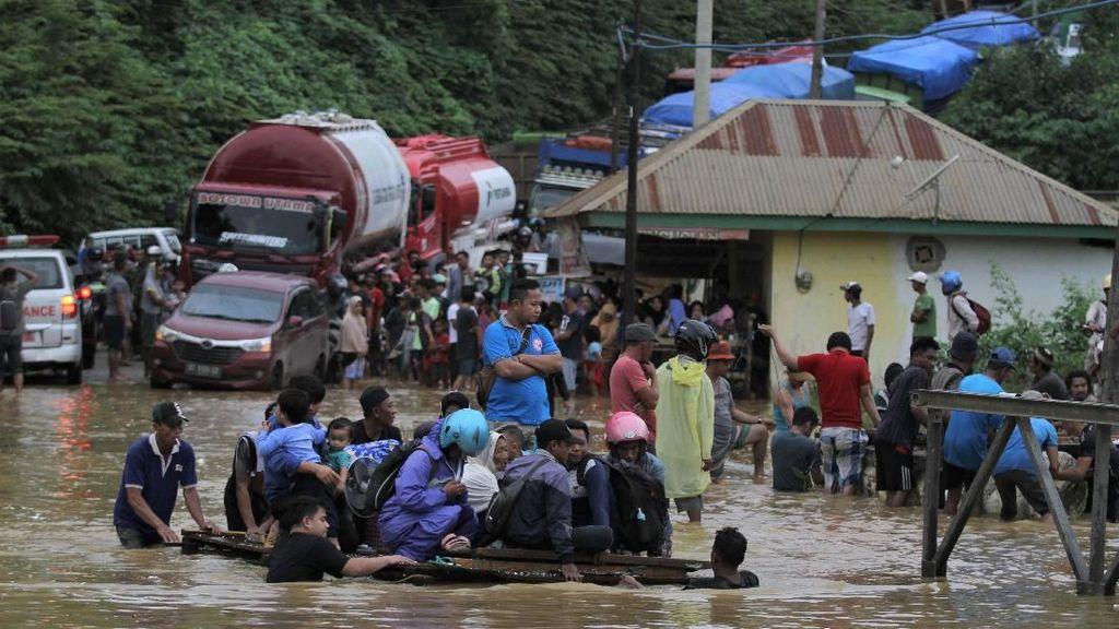 Banjir Bandang Rendam Ratusan Rumah di Konawe