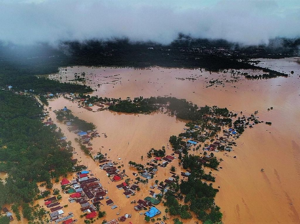 5 Ribu Rumah Warga Terendam Banjir di Konawe Sulteng