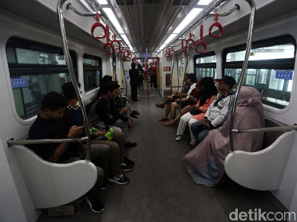 HUT DKI, Ikut Uji Publik LRT Jakarta Gratis Tanpa Daftar