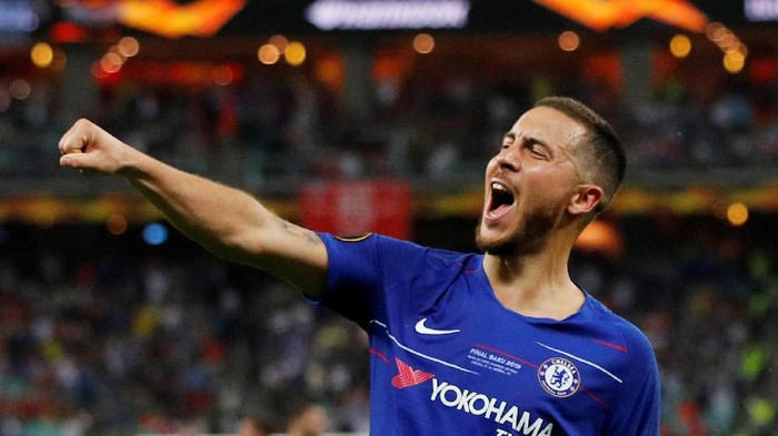 Eden Hazard. Kepergiannya ke Real Madrid berat dilepas fans Chelsea (Phil Noble / Reuters)