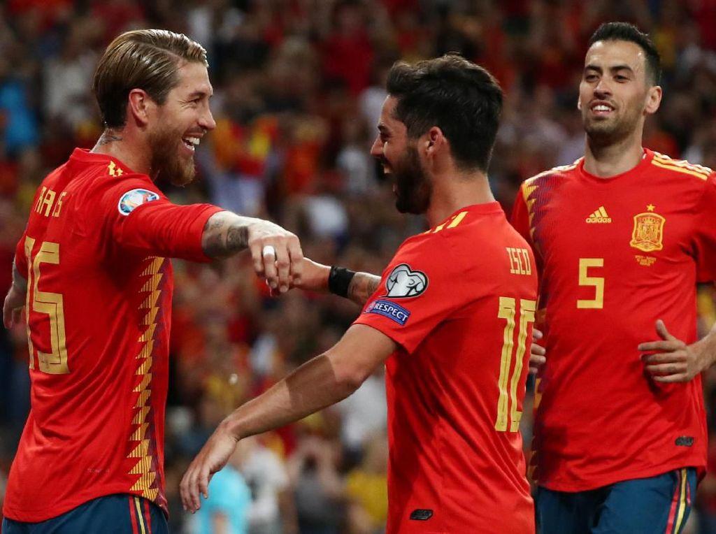 Hasil Spanyol vs Swedia: Diwarnai Dua Penalti, Tim Matador Menang 3-0