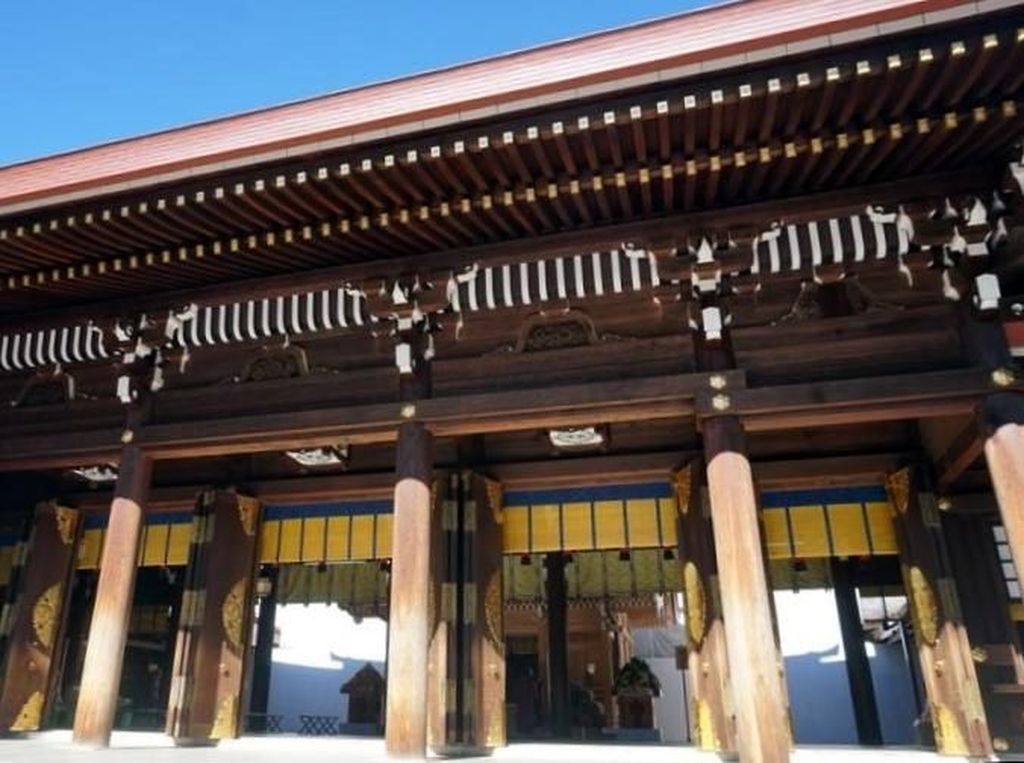 Kuil Meiji Jingu & Perayaan Panen di Tengah Ramainya Tokyo