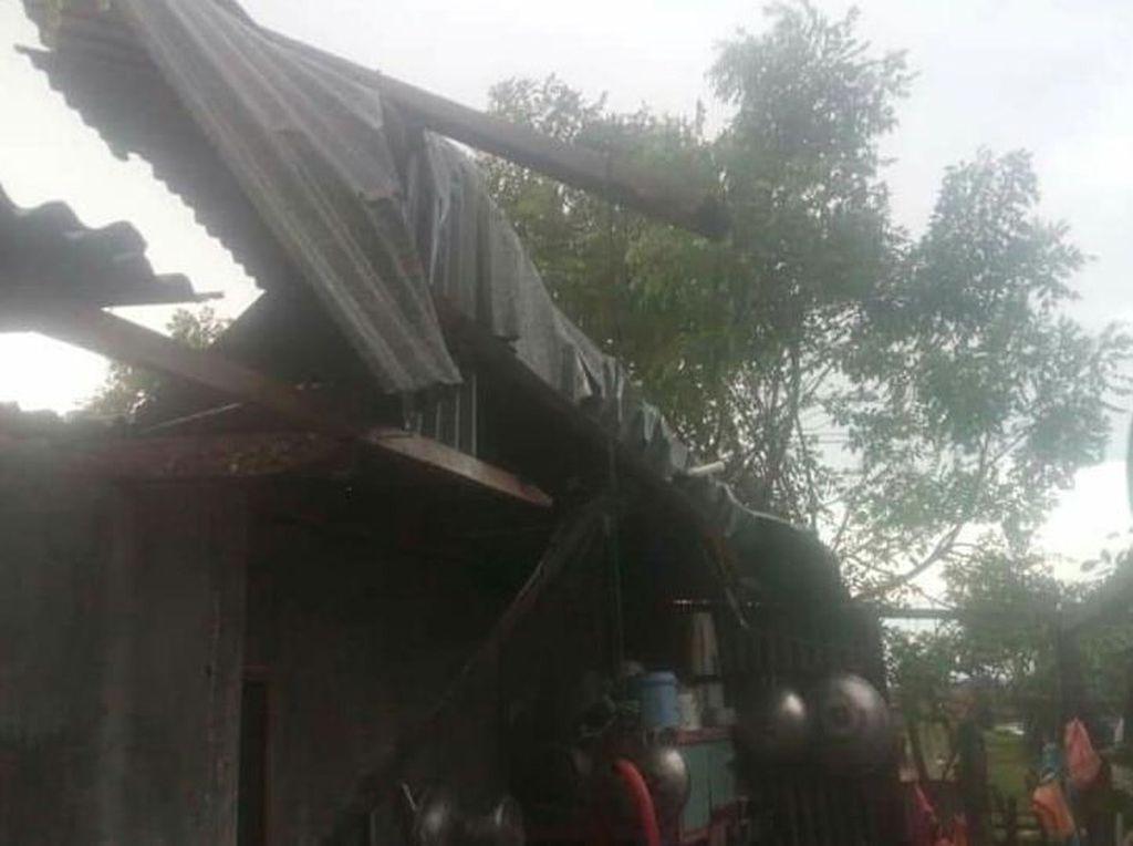 Diterjang Angin Kencang, Rumah di 4 Kecamatan Aceh Utara Rusak