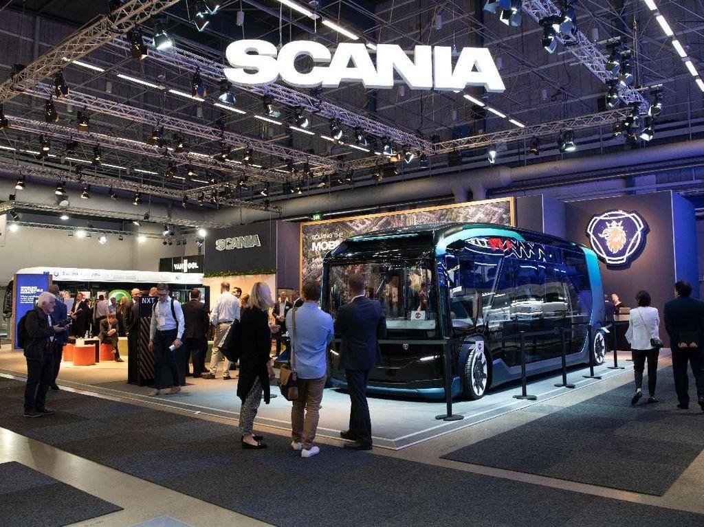 Bus Masa Depan Scania Kece Abis!