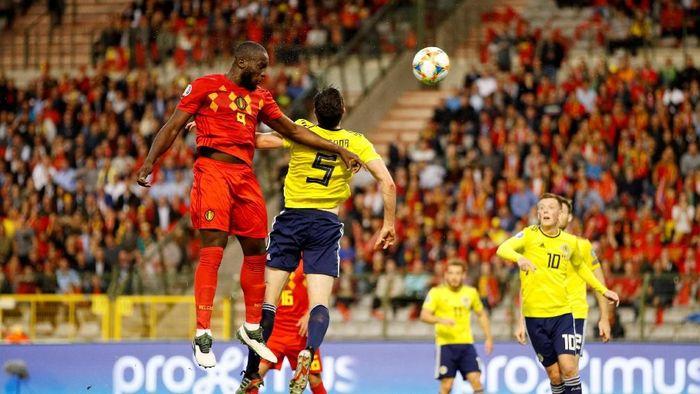 Romelu Lukaku dua gol, Belgia hantam Skotlandia 3-0 (John Sibley/Reuters)