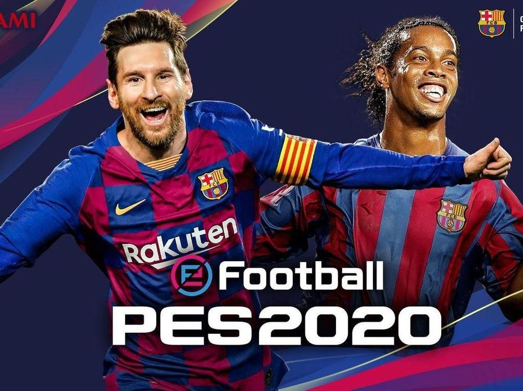 Konami-Barca Perpanjang Kerja Sama, Messi di Cover PES 2020