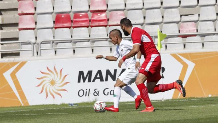 Indonesia kalah 1-4 dari Yordania (dok.FA Jordan)