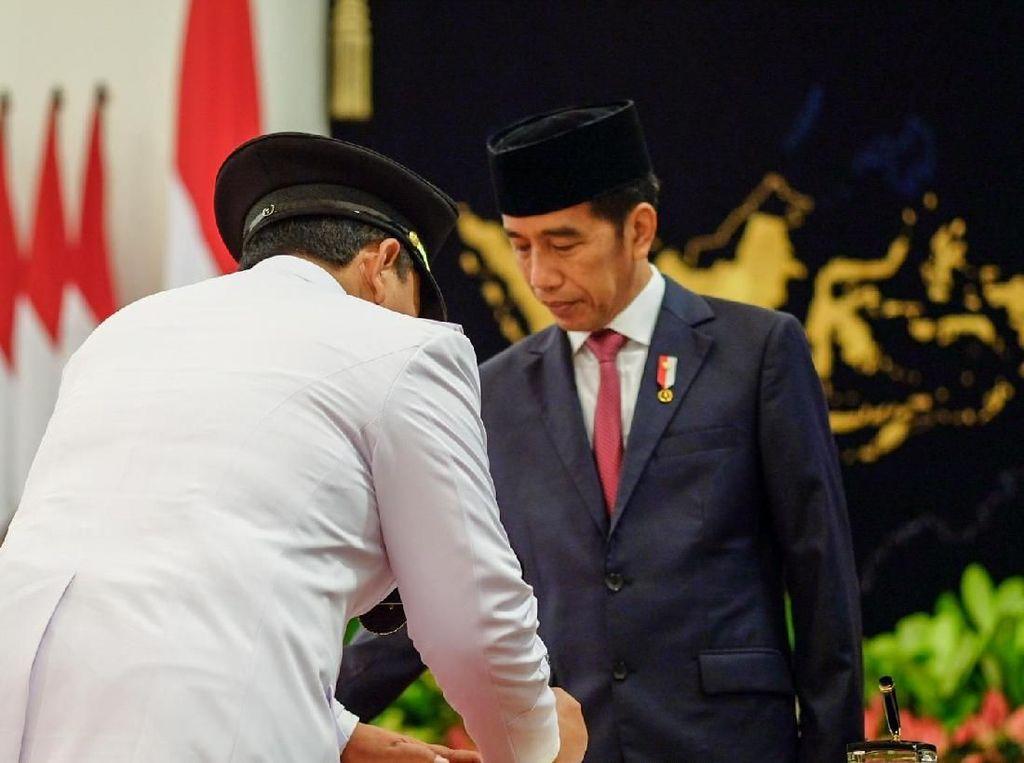 Gubernur Lampung Arinal Djunaidi Resmi Dilantik Jokowi