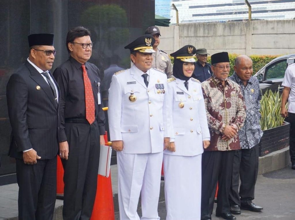 Diskusi Pencegahan Korupsi, Mendagri Ajak 3 Gubernur-Wagub Baru ke KPK