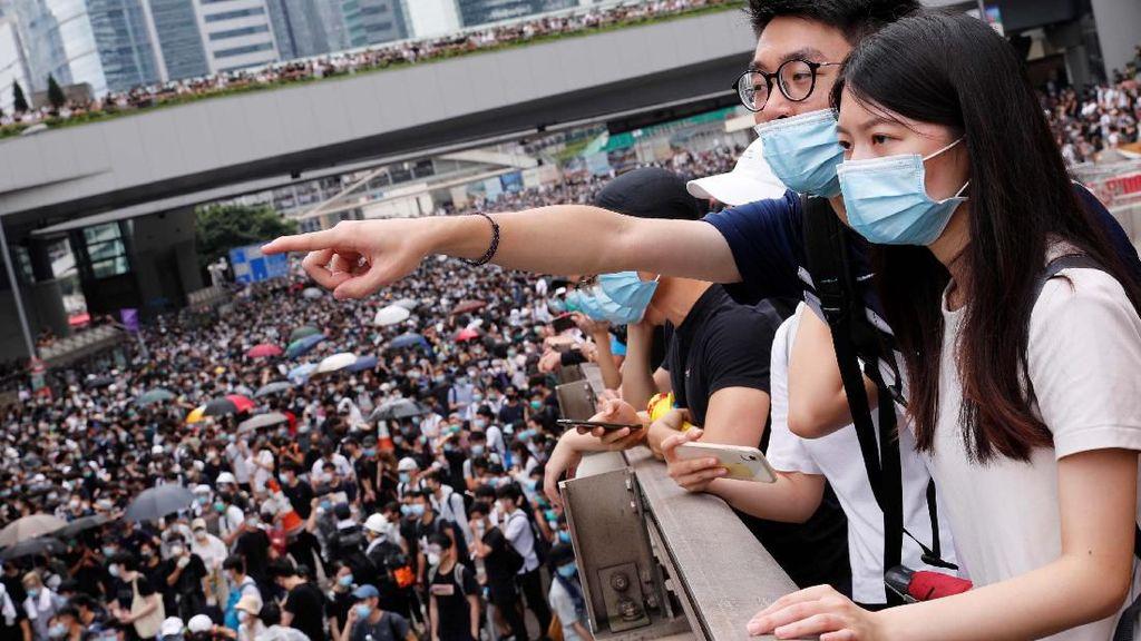 Warga Hong Kong Kembali Turun ke Jalan Tolak RUU Ekstradisi
