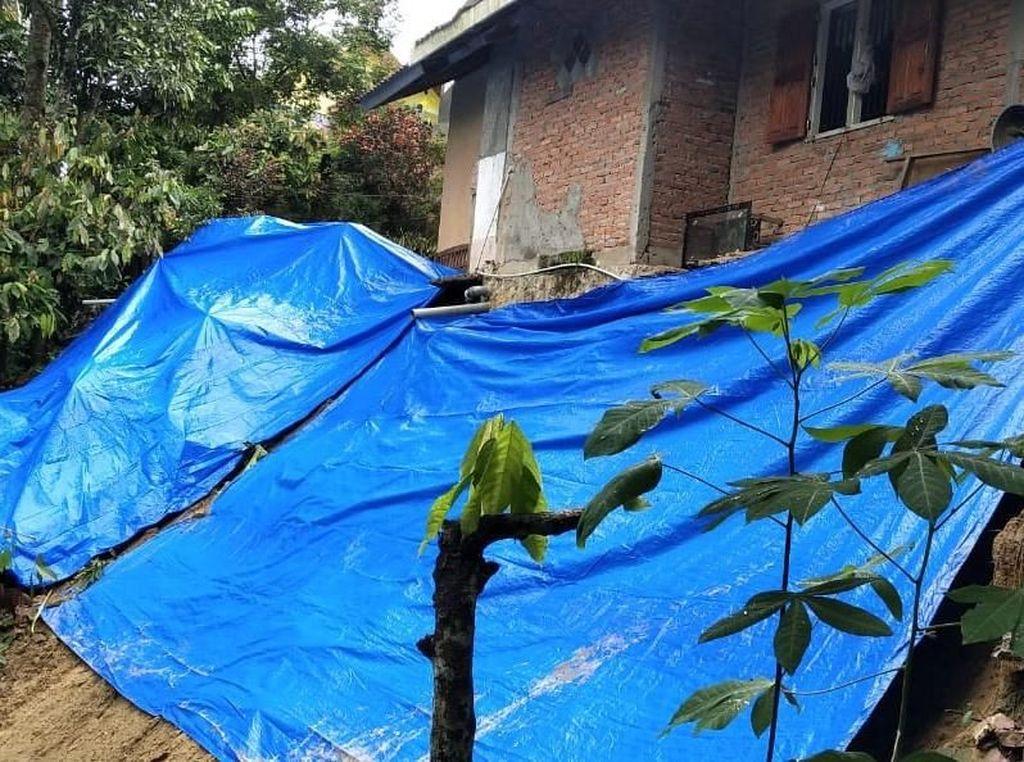 Longsor di Sawahlunto Sumbar, 30 Rumah Terdampak