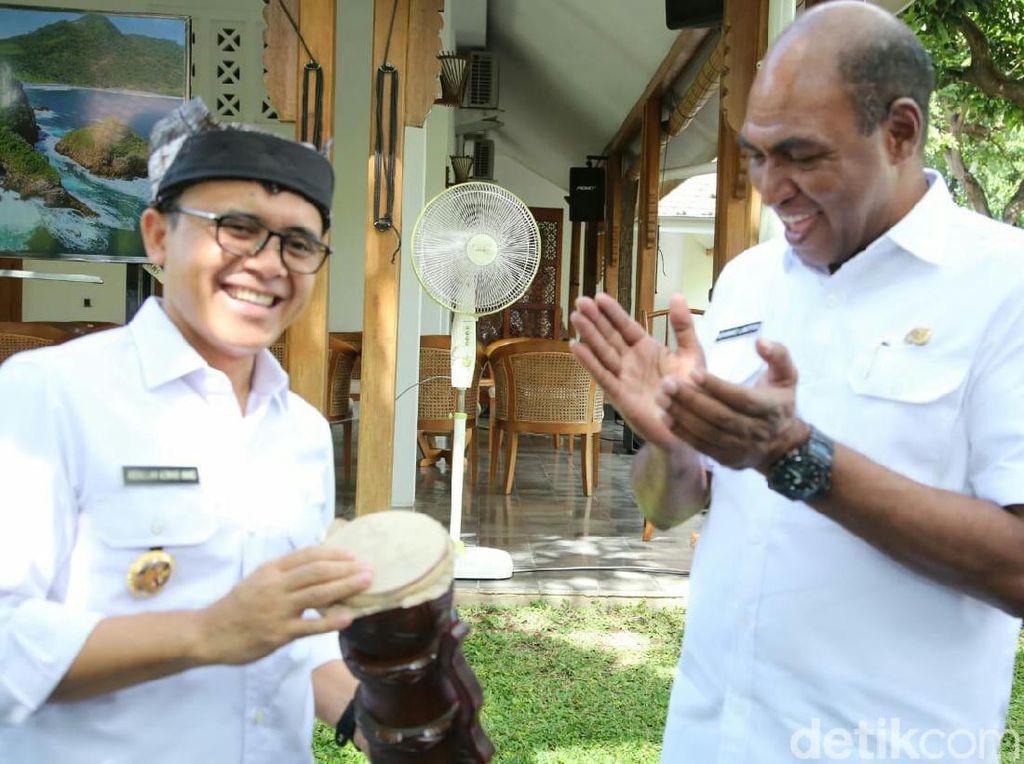 Wagub Papua Barat Boyong Kepala Bappeda se-Provinsi Ke Banyuwangi
