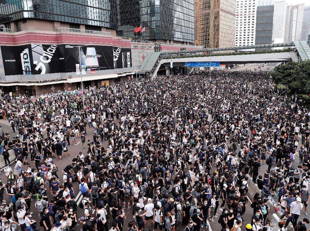 BNI Hong Kong Siapkan Kantor Cadangan Antisipasi Demo
