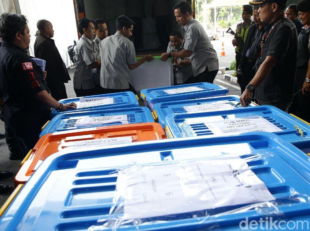 Alat Bukti Pemilu Terkait Sengketa Pilpres Diangkut ke MK