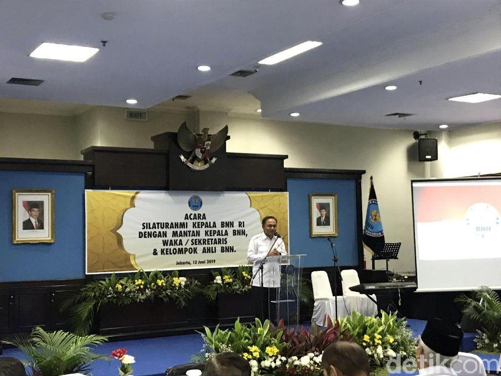 Silaturahmi Usai Lebaran, Kepala BNN Minta Masukan Buwas-Dai Bachtiar