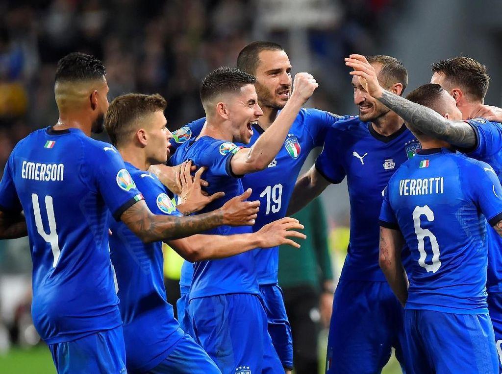 Hasil Italia vs Bosnia: Comeback, Gli Azzurri Menang 2-1