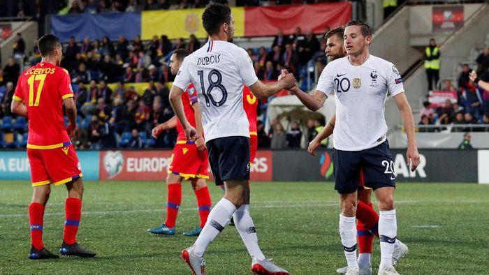 Timnas Prancis menang 4-0 atas Andorra di Kualifikasi Piala Eropa 2020. (Foto: Albert Gea/Reuters)