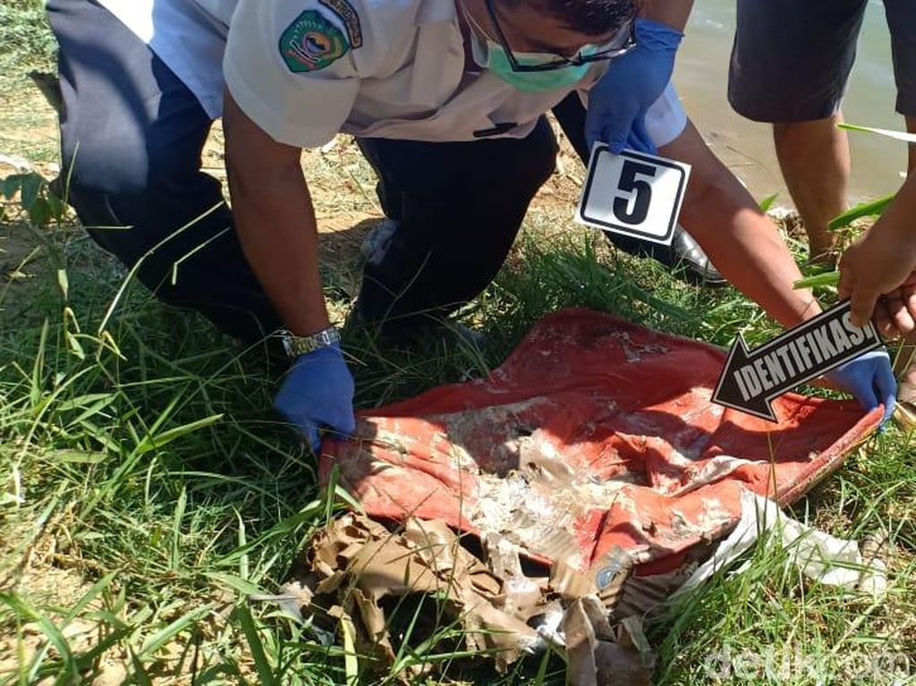 Mayat Bayi Ditemukan Terbuang di Pinggir Sungai Trenggalek