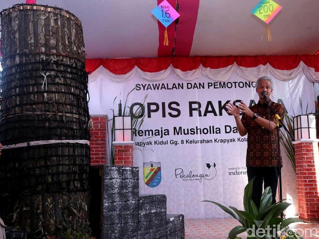 Ganjar Soal Lupis Pekalongan: Bangsa Indonesia Perlu Belajar Ini