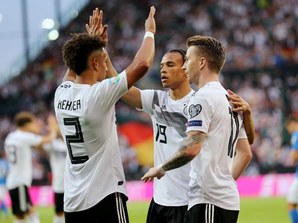 Hasil Kualifikasi Piala Eropa 2020: Jerman Gilas Estonia 8-0