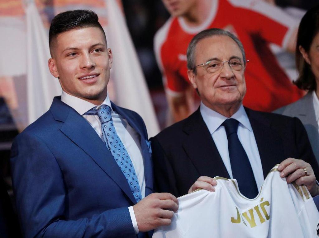 Perez ke Jovic: Terima Kasih Sudah Pilih Madrid
