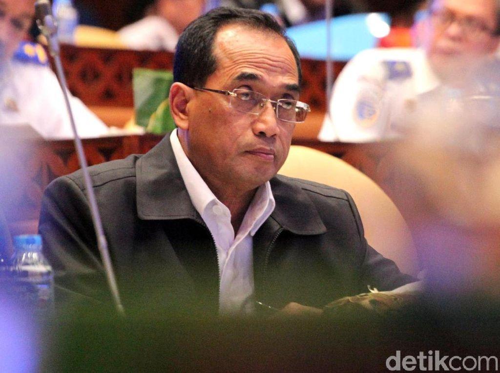 Rapat dengan DPR, Menhub Minta Anggaran Tahun 2020 Rp 41,75 T