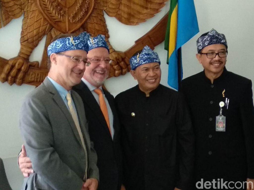 Pemkot Bandung-Belgia Jajaki Kerja Sama Industri Makanan Halal